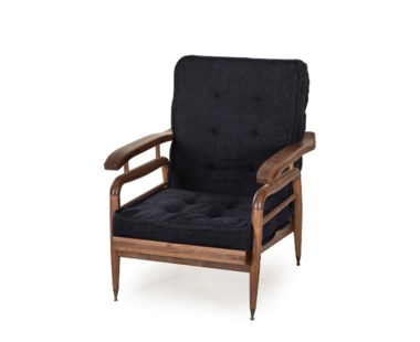 Saigon Chair - Indigo Hemp