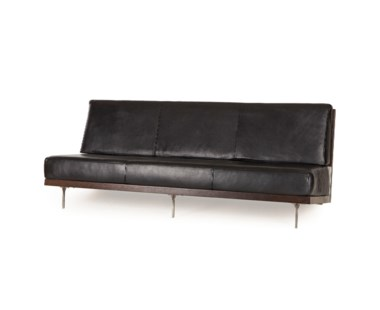 Scott Sofa With Smoke Eucalyptus Veneer