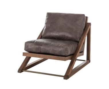 Teddy Chair- Story Black Leather (UK)