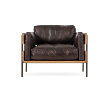 Carson Ii Chair - Antique Espresso Leather (UK)