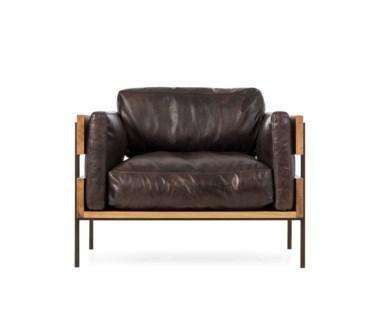 Carson Ii Chair - Antique Espresso Leather (UK)