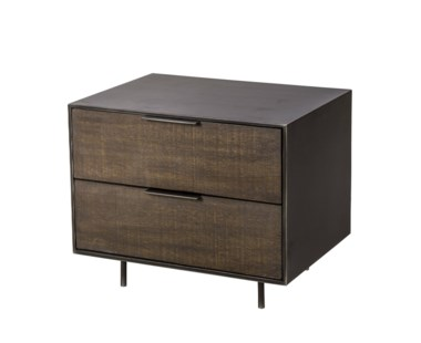 Tribeca Nightstand - 2 Drawer