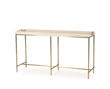 Lexi Tray Console Table