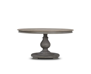 Nichole Dining Table - Round/ Raffle finish on Top