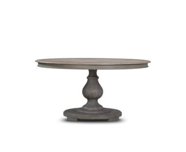 Nichole Dining Table - Round/ Raffle finish on Top