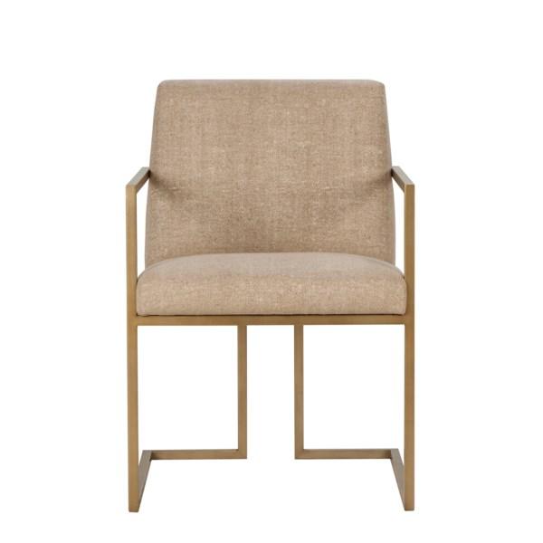 Ashton Arm Chair - Marley Hemp