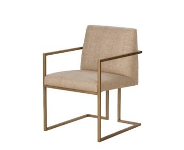 Ashton Arm Chair- Marley Hemp