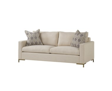 Ian Loveseat - Leg E Metal Flair
