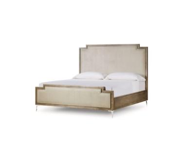 Chloe Upholstered Bed - US King - Vera Whisper