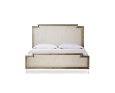 Chloe Upholstered Bed - US Queen / Vera Whisper