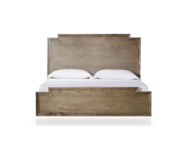 Chloe Veneered Bed - US Queen