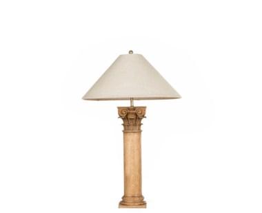 Delphi Table Lamp - Vintage Oak