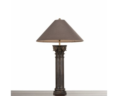 Delphi Table Lamp - Worn Black