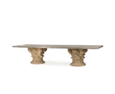 Pierson Dining Table - Concrete Top