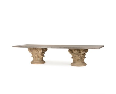 Pierson Dining Table - Concrete Top
