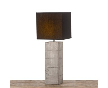 Roark Table Lamp - Black Shade