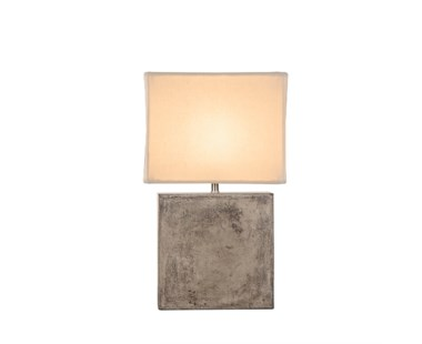 Untitled Cube Lamp - Small / White Shade