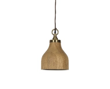 Natural Oak Pendant - Small