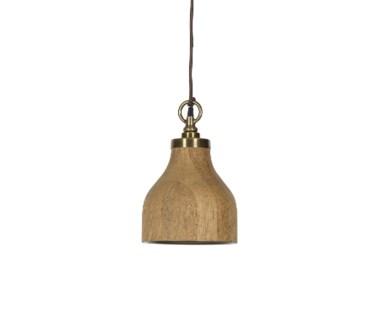 Natural Oak Pendant - Small