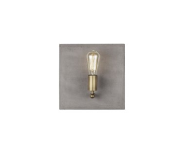Factory Sconce - Single / Aged Brass