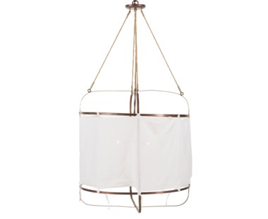 French Laundry Light Large Red Brass
