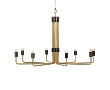 Le Marais Chandelier - 8 Light / Brass