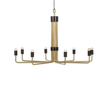 Le Marais Chandelier - 8 Light / Brass
