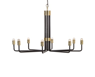 Le Marais Chandelier - 8 Light / Black