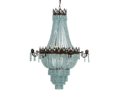 Soho Chandelier - Sky Blue