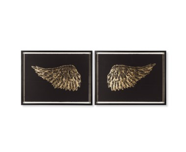 Gold Wings - Black