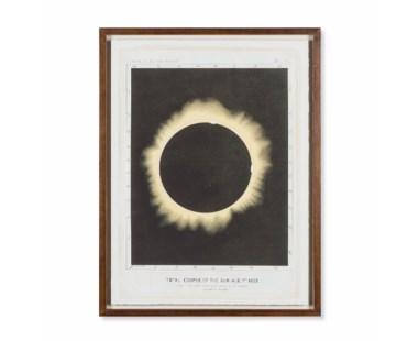 Eclipse of the Sun Circa 1876