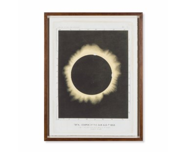 Eclipse of the Sun Circa 1876