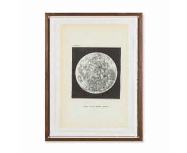 Chart of Moons Surface - Circa 1893
