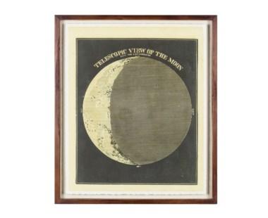 Telescopic View of the MoonCirca 1872