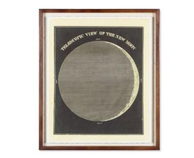 Telescopic View of the New MoonCirca 1872