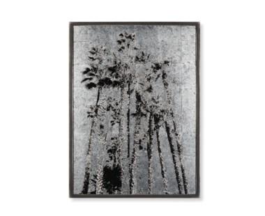 Santa Monica Palm Trees - Silver Leaf