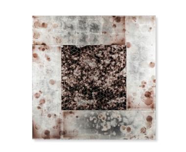 Eglomise Art Panel - A