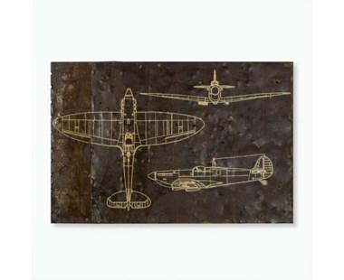 Fighter Blueprint - Custom Size
