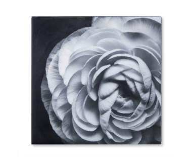 Black & White Flower - Epoxy / E