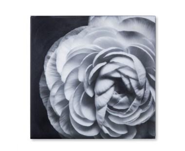 Black & White Flower - Epoxy / E
