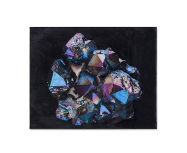 Flame Aura Quartz - Crystal Epoxy Print