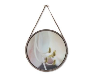 Flower Pistils on Glass - Round