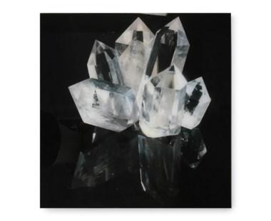 White Crystal - Acrylic Dry Mount