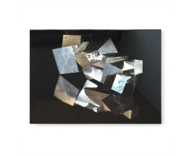 Kelly Hoppen Pyrite Crystal B Photo on Acrylic Dry Mount
