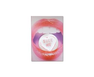 Hot Lips Suck Me - Led Neon