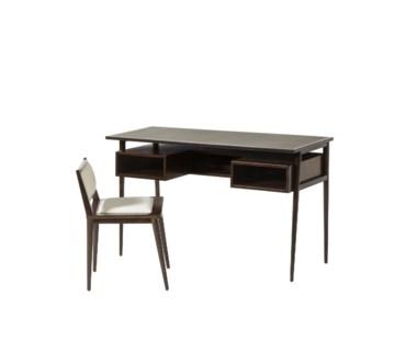 Herringbone Desk & Chair