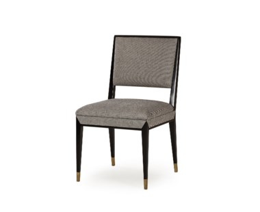 Reform Side Chair - Black Finish / Winston Speckle