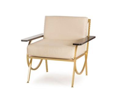 B Chair - Cream Leather