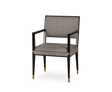 Reform Armchair - Black Finish / Winston Speckle
