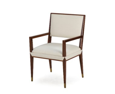 Reform Arm Chair - Rosewood / Cream Fabric